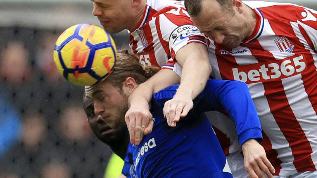 Xherdan Shaqiri spielt und verliert mit Stoke City