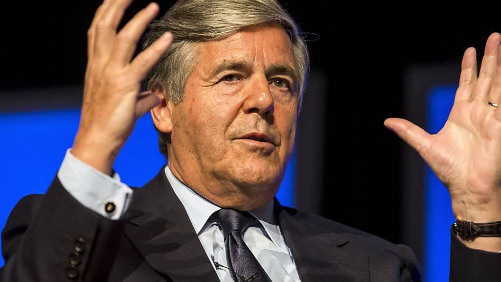Auch von ihrem ehemaligen Chef Josef Ackermann will die Deutsche Bank laut einem Zeitungsbericht Boni zurückverlangen. Der Schweizer war bis 2012 Chef der Bank. (Archivbild)