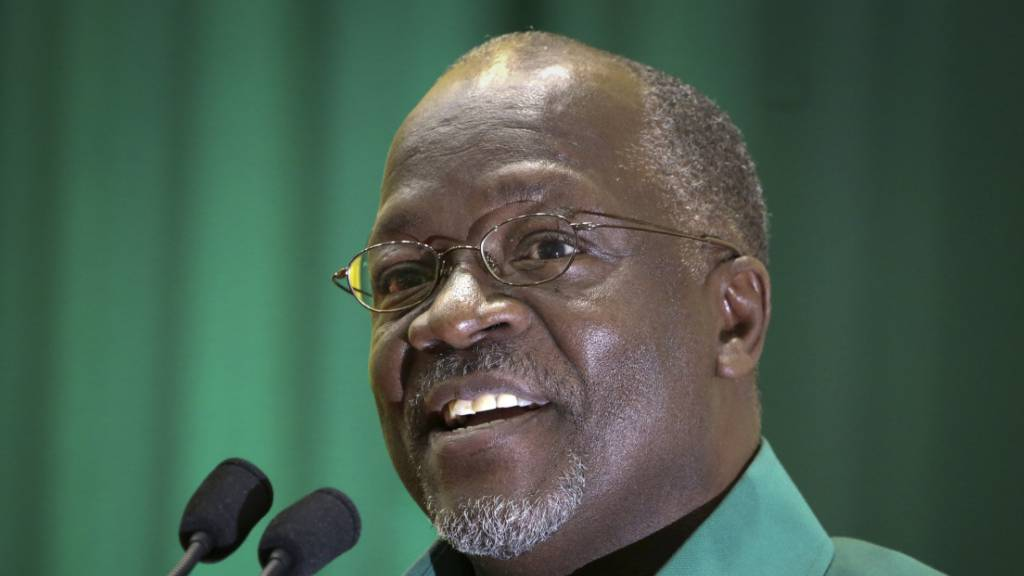 John Magufuli ist im Alter von 61 Jahren gestorben.