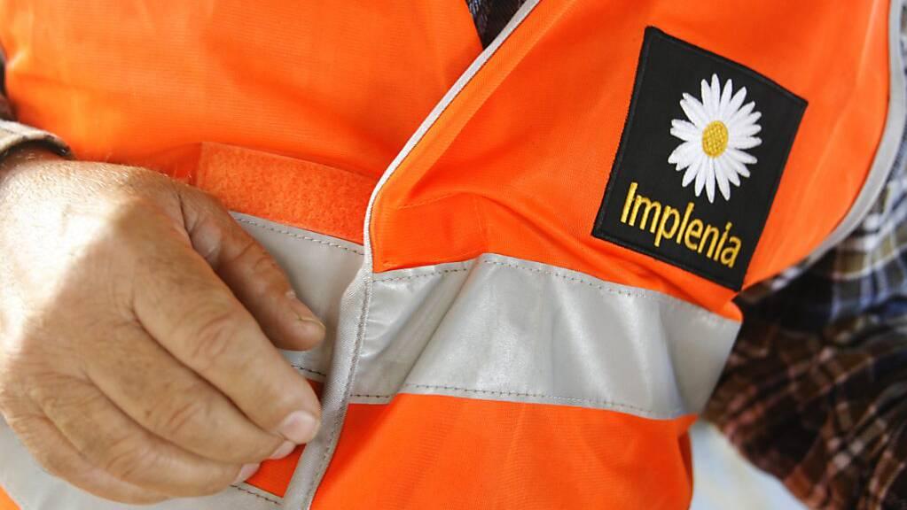 Der Baukonzern Implenia verkauft einen Geschäftsbereich in Deutlichand mit knapp 200 Mitarbeitenden. (Archivbild)