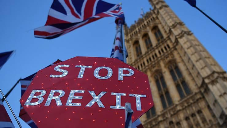 Die EU muss nach dem Entscheid des britischen Unterhauses am Dienstagabend nun über eine dritte Brexit-Verlängerung entscheiden.