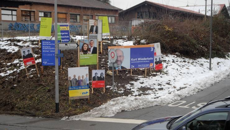 Wahlkampf: Nonstop-Einsatz kostet Geld und Ressourcen. (Walter Schwager)