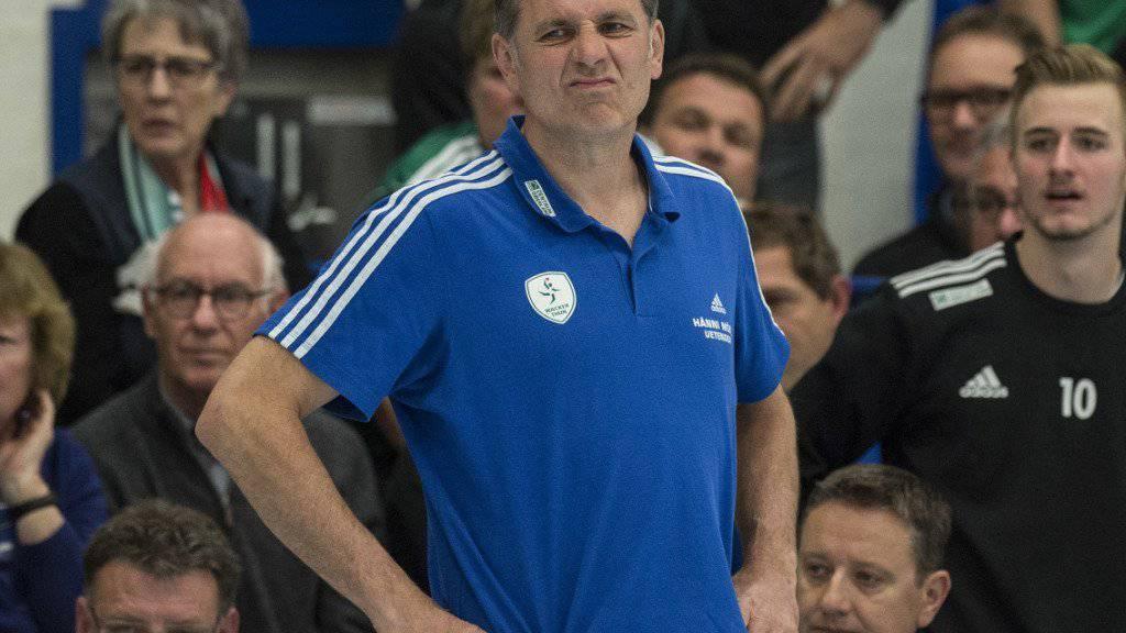 Für Thuns Trainer Martin Rubin bedeuteten die Viertelfinals Endstation