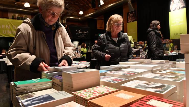 Das Buchfestival Olten findet vom 29. Oktober bis 1. November statt. (Archivbild)