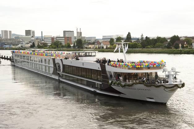 Impressionen von der Schiffstaufe der «Excellence Princess»