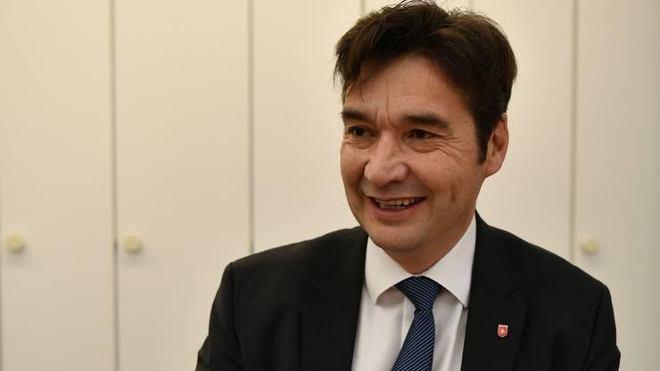 Freut sich schon aufs Grenchner Fest 2018: Stadtpräsident François Scheidegger.