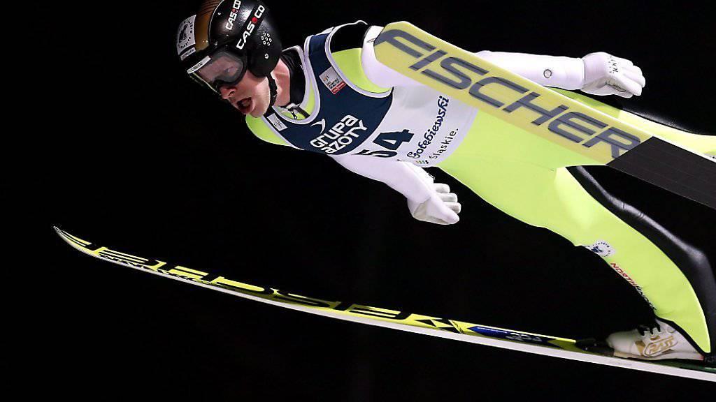 Roman Koudelka feierte in Wisla seinen fünften Weltcupsieg
