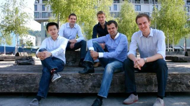 Die fünf Gründer von links nach rechts: Tao Tao, Tobias Rein, Martin Sieber, Pascal Mathis, Johannes Reck. Foto: Ho