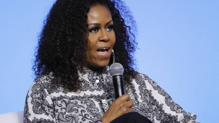 Die frühere First Lady der USA, Michelle Obama, ist am Sonntag mit einem Grammy für ein Hörbuch ausgezeichnet worden. (Archivbild)