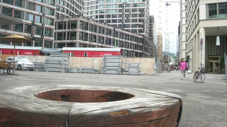 Im Herzen Zürichs entsteht mit der Europaallee ein zunehmend belebter neuer Stadtteil.