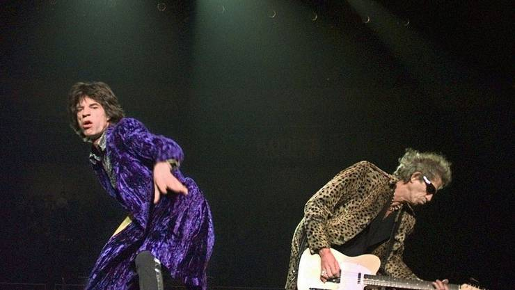 Live rocken Mick Jagger und Keith Richards wie eh und je
