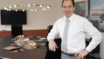 Peter Vetter im Sitzungszimmer der Baselbieter Regierung.