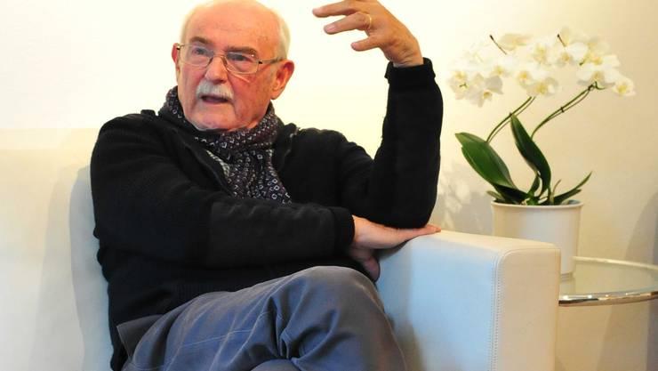 Peter André Bloch, so etwas wie der Doyen der Kulturszene, wird am Freitag 80-jährig.