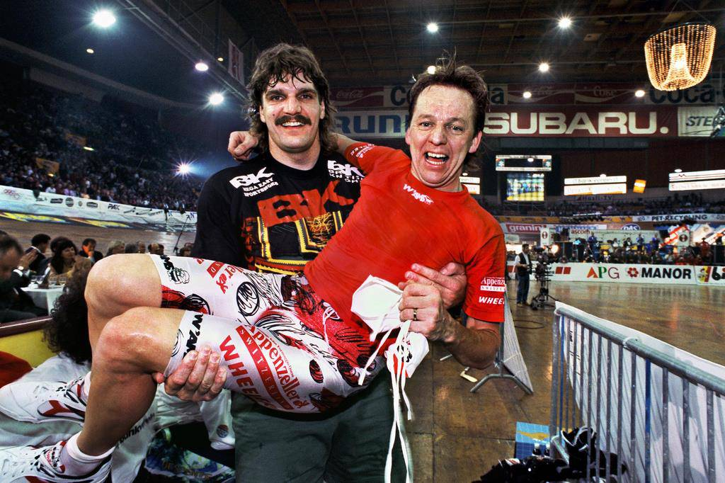 St.Galler Radsportlegende Beat Breu (© Keystone)