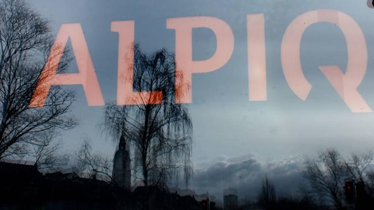Zurück in den schwarzen Zahlen: Energiekonzern Alpiq.