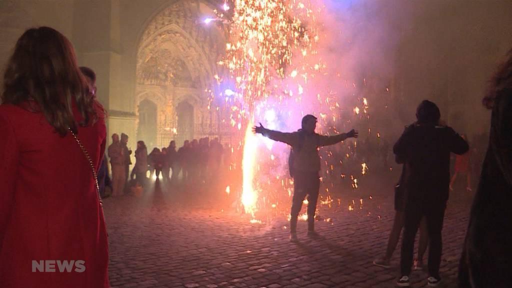 So feiert Bern: Silvester auf dem Münsterplatz