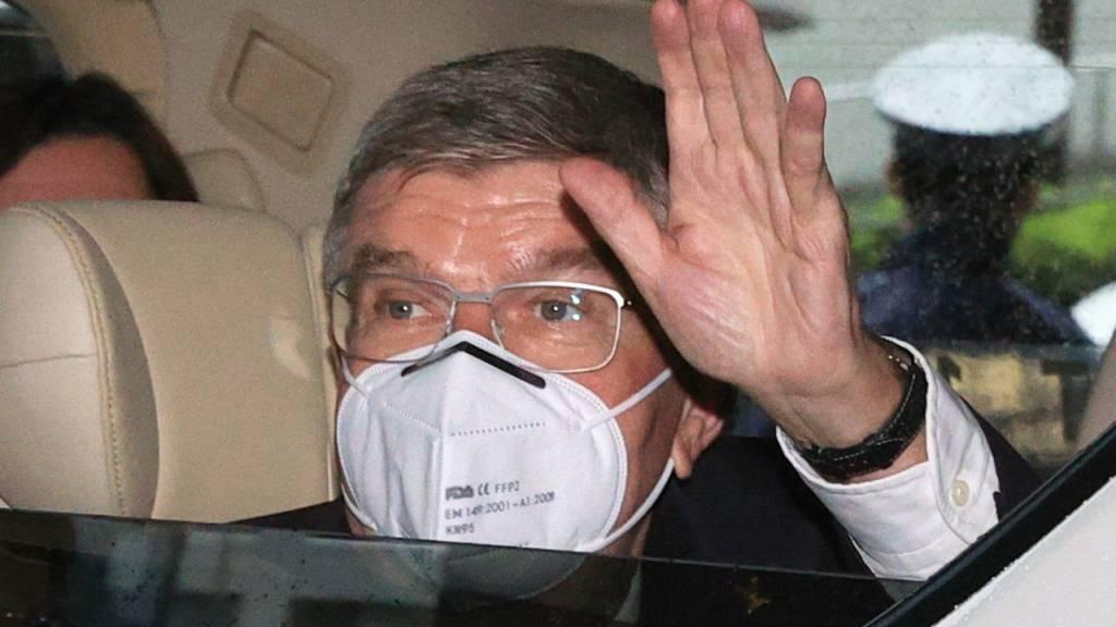 In Tokio herrscht für alle Teilnehmer eine strikte Maskenpflicht