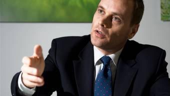 SVP-Fraktionschef Jean-Pierre Gallati will in die Regierung wechseln.