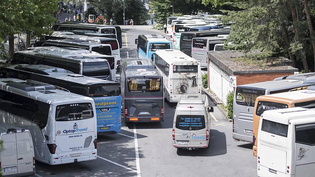 Stadt Luzern prüft Übergangslösung für Carparkplätze