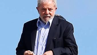 Verminderte Strafe und lockerere Haftbedingungen für den wegen Korruption verurteilten brasilianischen Ex-Präsidenten Luiz Inacio Lula da Silva. (Archivbild)