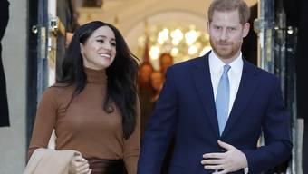Prinz Harry und seine Frau Meghan haben eine Organisation für soziale Projekte lanciert. (Archivbild)
