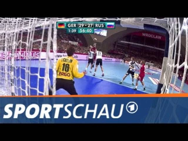 Handball-EM: Die dramatische Schlussphase der Partie Deutschland - Russland