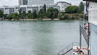 Der Mann trieb leblos im Rhein. (Symbolbild)