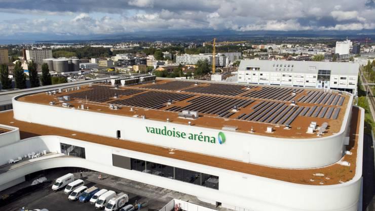 Das neue Eisstadion des Eishockeyclubs Lausanne HC in Malley wurde erst vor zehn Tagen eröffnet. (Archivbild)