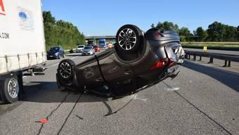 Unfall A2 bei Egerkingen
