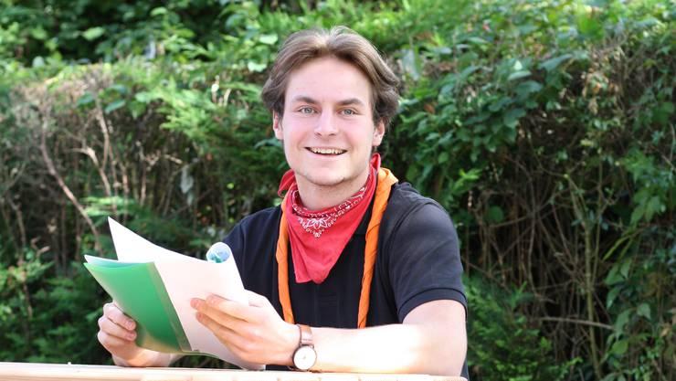 Oliver Keller hat mit drei Freunden das Drehbuch selbst geschrieben.