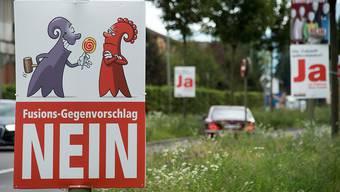 Abstimmung zur Kantonsfusion 2014