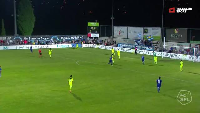 Challenge League, 2017/18, 32. Runde, FC Wohlen - FC Aarau, 1:1 Daniele Romano