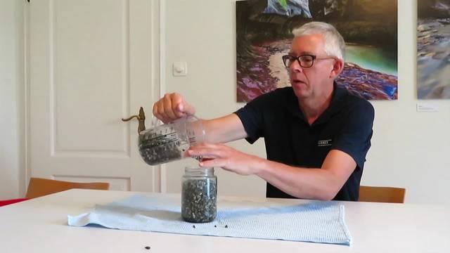 Kies und Wasser im Untergrund: Geologe Pieter Ouwehand erklärt, wie das mit dem Grundwasser funktioniert
