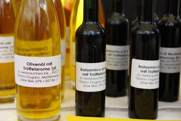 Trüffelöl ist ein beliebtes Produkt