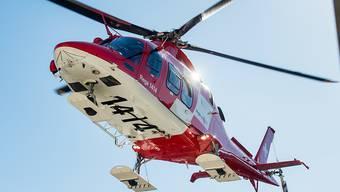 Die Trike-Fahrerin musste nach dem Unfall mit dem Helikopter ins Spital geflogen werden. (Archiv)