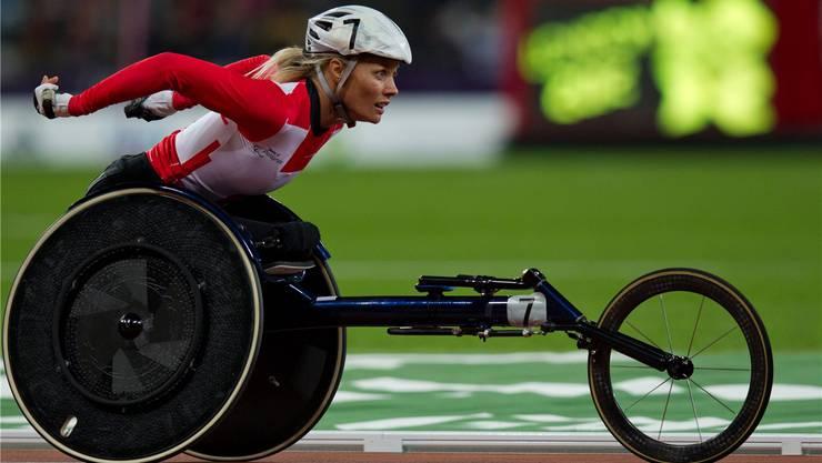 Die mehrfache Europameisterin und Goldmedaillengewinnerin an Paralympics Edith Wolf-Hunkeler wird am Sonntag als Ehrenstarterin agieren.