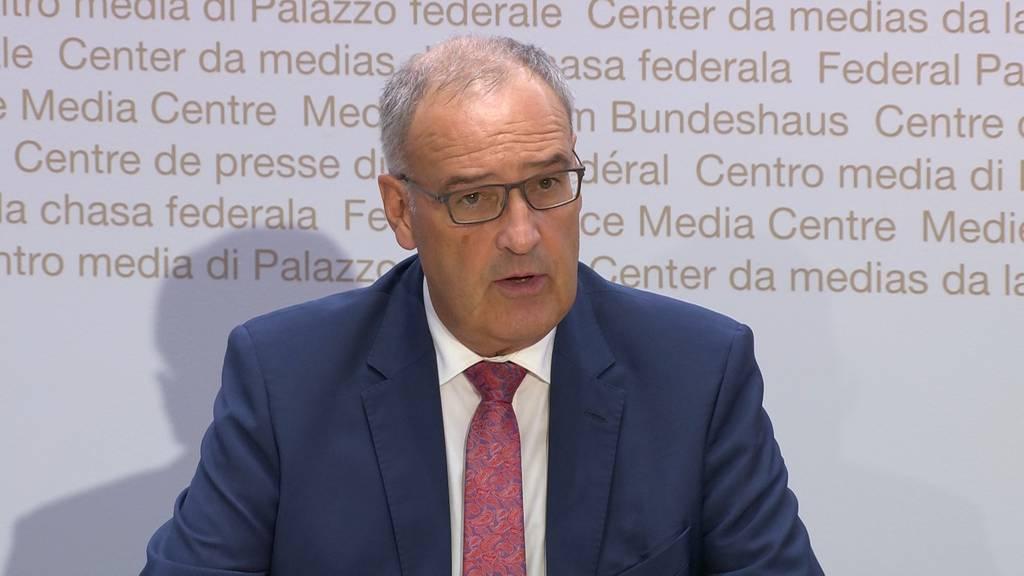 Parmelin: «Die Mehrausgaben sollen nicht die Arbeitnehmer und -geber belasten»