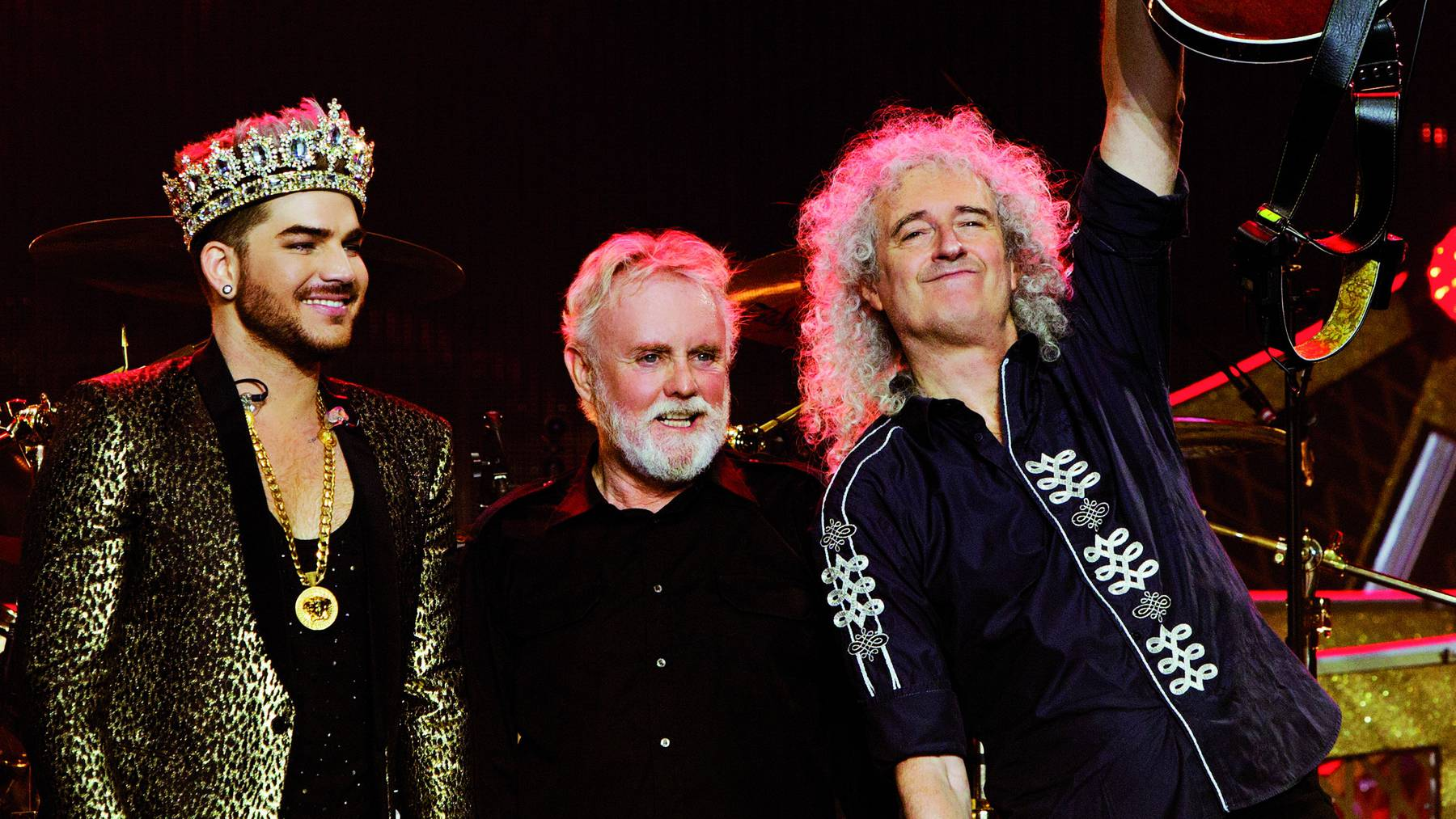 Queen + Adam Lambert Press Shot - Photograph by Xavier Vila - Copyright Miracle Productions LLP