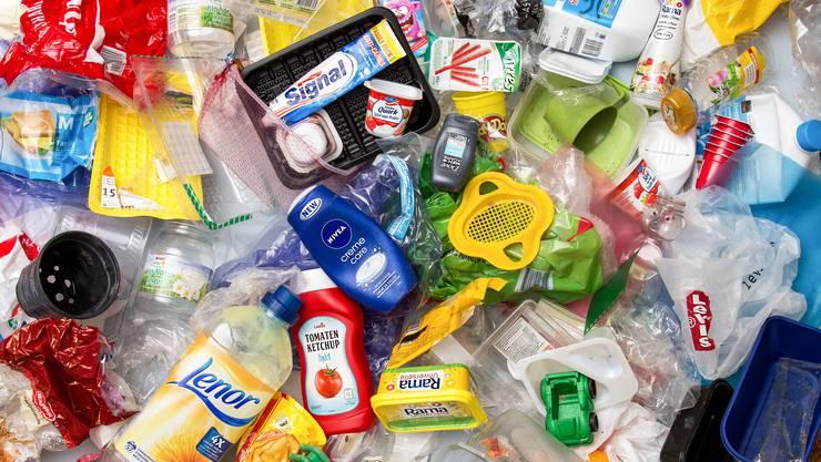 Allschwil Kunststoffabfälle