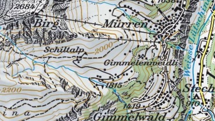 Bei Stechelberg ist am Donnerstag ein Basejumper abgestürzt.