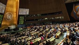 Gewalt des Regimes in Syrien verurteilt: Die UNO-Vollversammlung hat über die Syrien-Resolution abgestimmt. (Archiv)