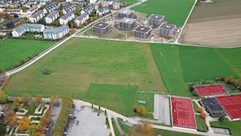 Steht hier in acht Jahren die Mittelschule Fricktal? Die Gemeinde Stein holt sich vorsorglich die Verkaufsvollmacht beim Souverän.