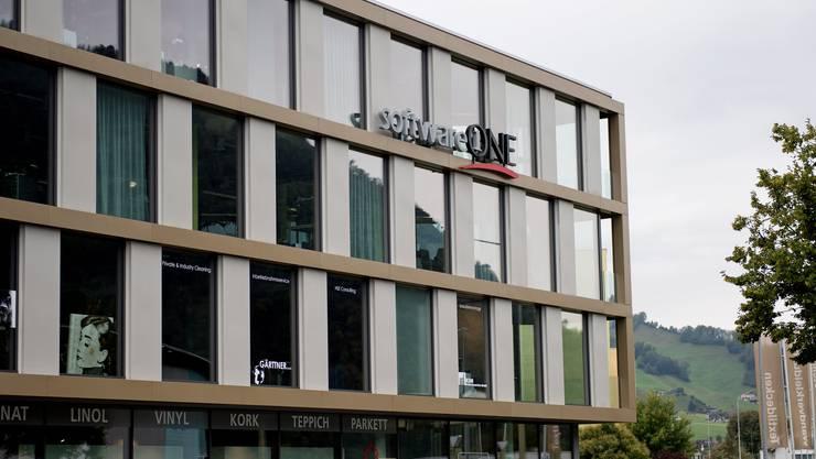 Der Hauptsitz von SoftwareOne im Schnyderpark Stans.
