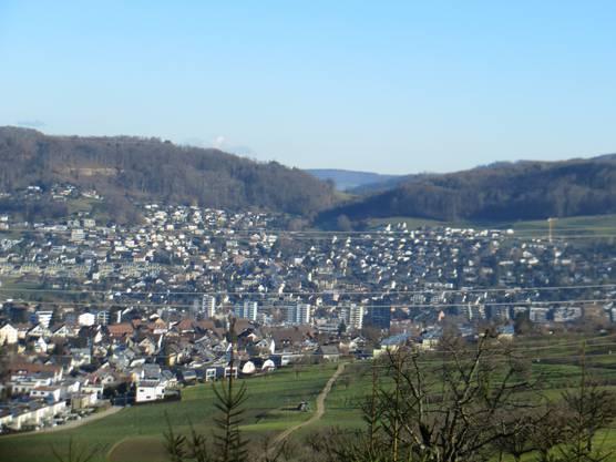 Der schöne Blick auch auf unser Nachbardorf Füllinsdorf