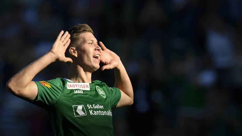 FCSG-Stürmer Cedric Itten für die Nati aufgeboten