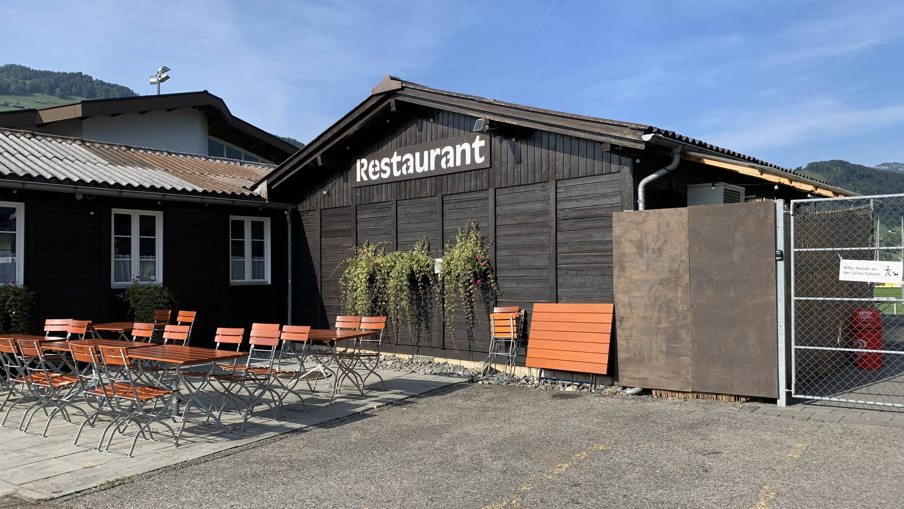 Clublokal des SC Buochs, Chalet Seefeld