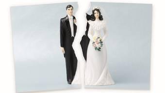 Verliebt, verlobt und noch lange nicht getrennt: Ehen werden heute weniger schnell geschieden.
