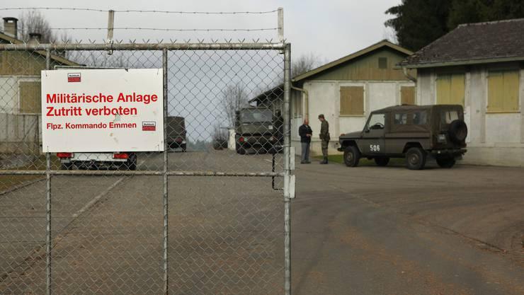 Die Asylbewerber sollen in der alten Militäranlage in Bettwil untergebracht werden
