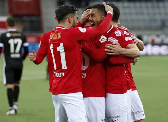 Der FC Thun hat sein Polster aus der Vorrunde bereits verspielt.