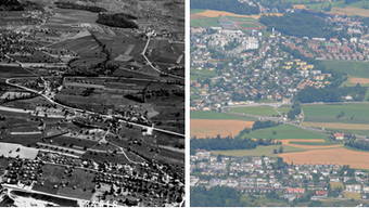 Mutschellen anno 1954 und 2012